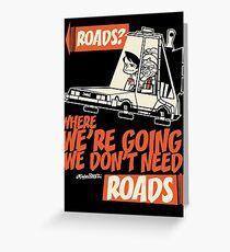 Roads Greeting Card