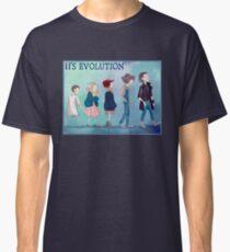Stranger Things Eleven's Evolution - 11  Classic T-Shirt