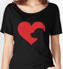 Labrador Owner Gift Lab In My Heart Women's Relaxed Fit T-Shirt