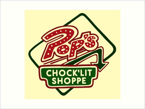 Pop's Chock'lit Shoppe (Light) by 4everYA