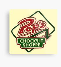 Pop's Chock'lit Shoppe (Light) Metal Print