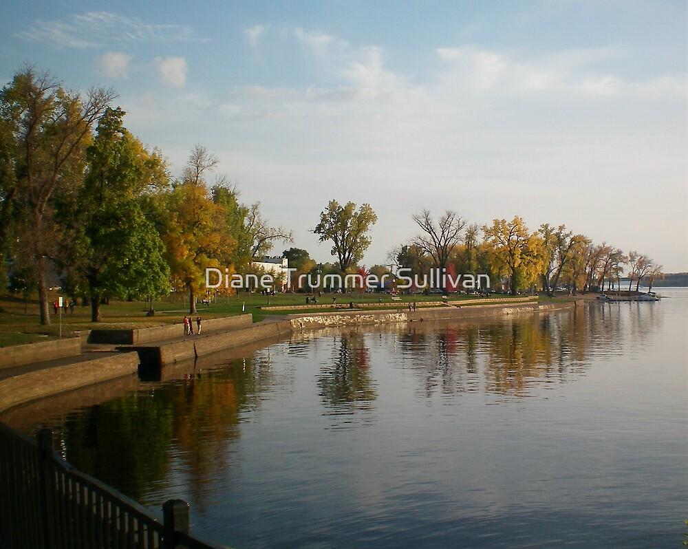 Fall River Walk by Diane Trummer Sullivan