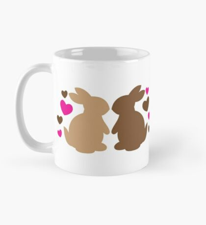 Chocolate bunnies in love Mug