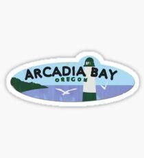 Pegatina Arcadia Bay