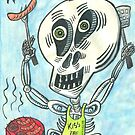 Skully Grillin' by Judy Boyle