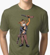 Ash Bandicoot Tri-blend T-Shirt