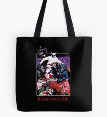 Krampusnacht DC - Illustrated by Isaac Nejako  Tote Bag