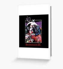 Krampusnacht DC - Illustrated by Isaac Nejako  Greeting Card