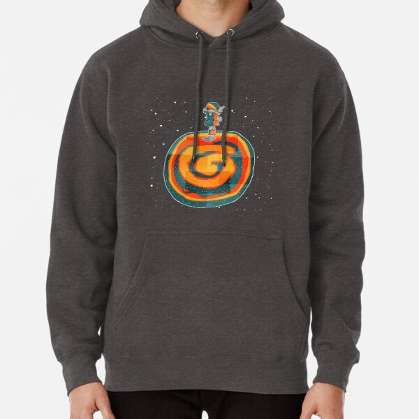 girl finds book on planet Pullover Hoodie
