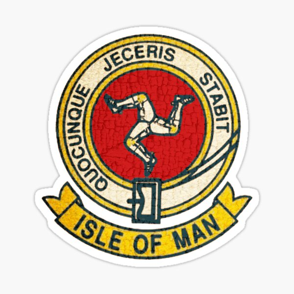Isle of Man TT races patch  Sticker