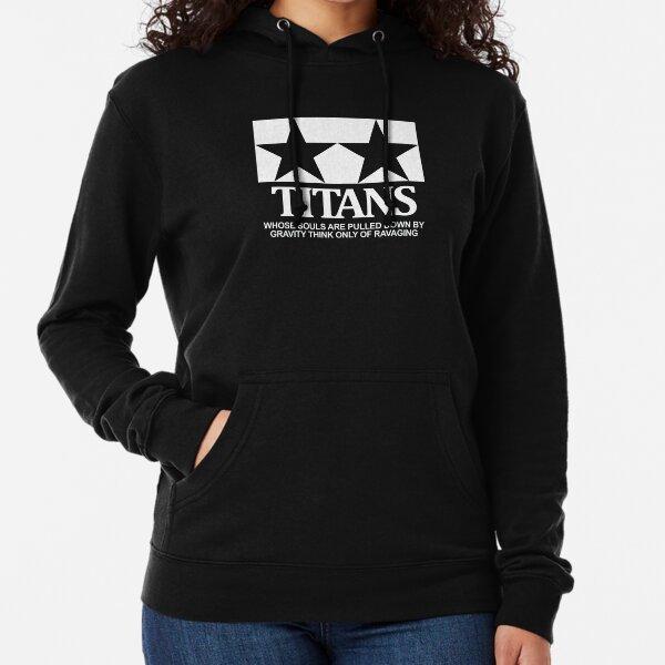 TITANS (monotone) Lightweight Hoodie