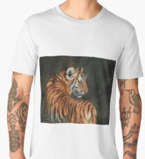Tiger. In The Shadows of The Night Men's Premium T-Shirt