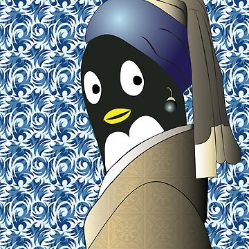 Penguin with a Pearl Earring by JeanRim