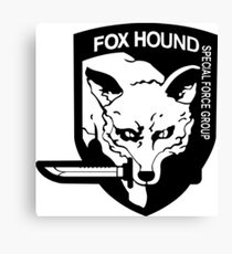 Fox Hound Canvas Print