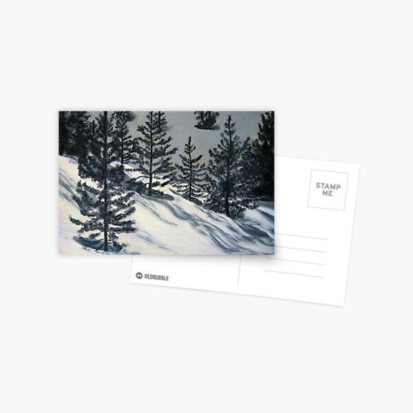 WINTER SHADOWS Postcard