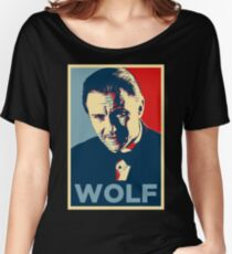 Mr. Wolf Pulp Fiction (Obama Effect) Women's Relaxed Fit T-Shirt