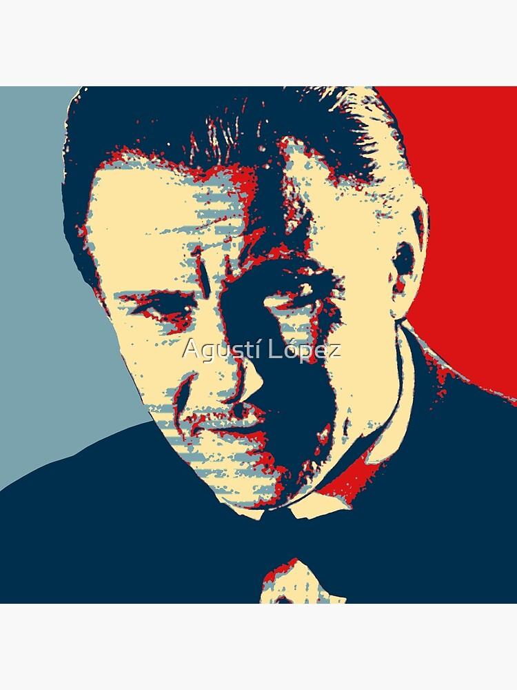Mr. Wolf Pulp Fiction (Obama Effect) by AgustiLopez