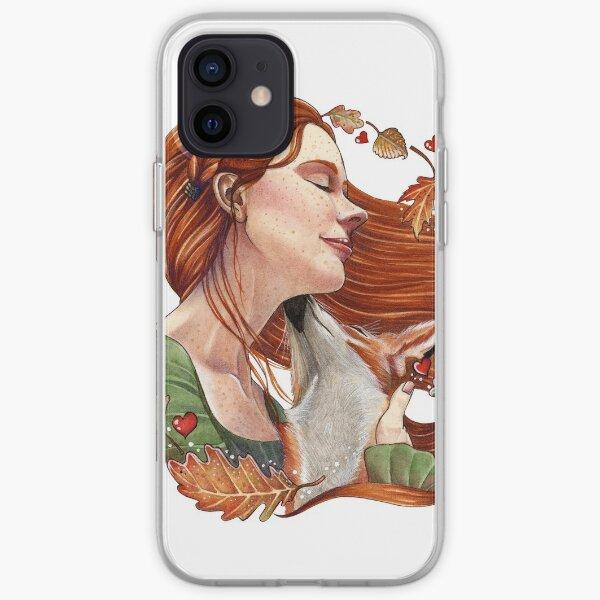 Fall in Love Funda blanda para iPhone