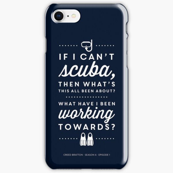 The Office - Creed Bratton If I Can't Scuba iPhone Snap Case
