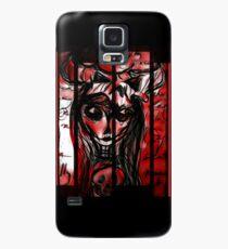 Skull girl Case/Skin for Samsung Galaxy