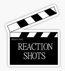 Reaction Shots Sticker