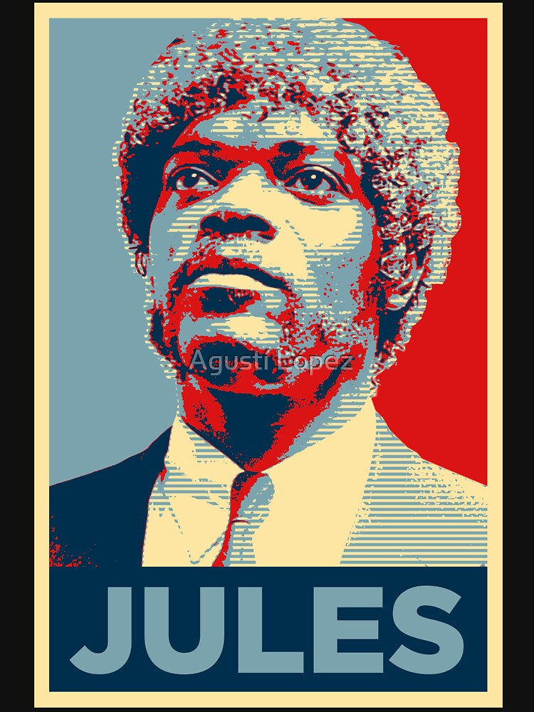 Jules Pulp Fiction (Obama Effect) by AgustiLopez