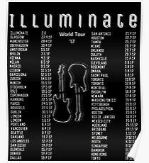 Illuminate Guitars Poster