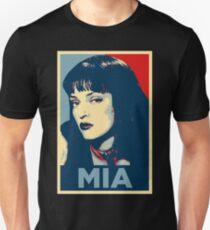 Mia Pulp Fiction (Obama Effect) Unisex T-Shirt