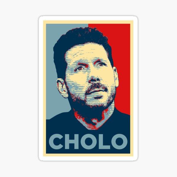 Cholo Simeone (Obama Effect) Pegatina