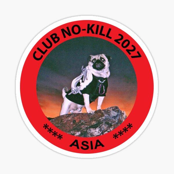 CLUB NO-KILL ASIA Sticker