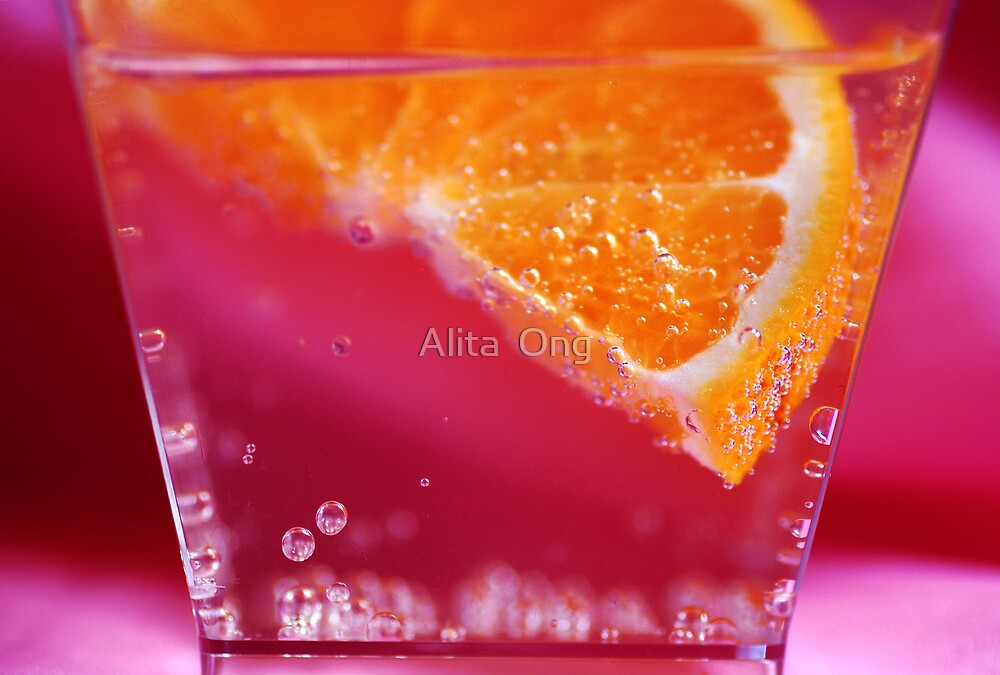 Fizzy orange 3 by Alita  Ong