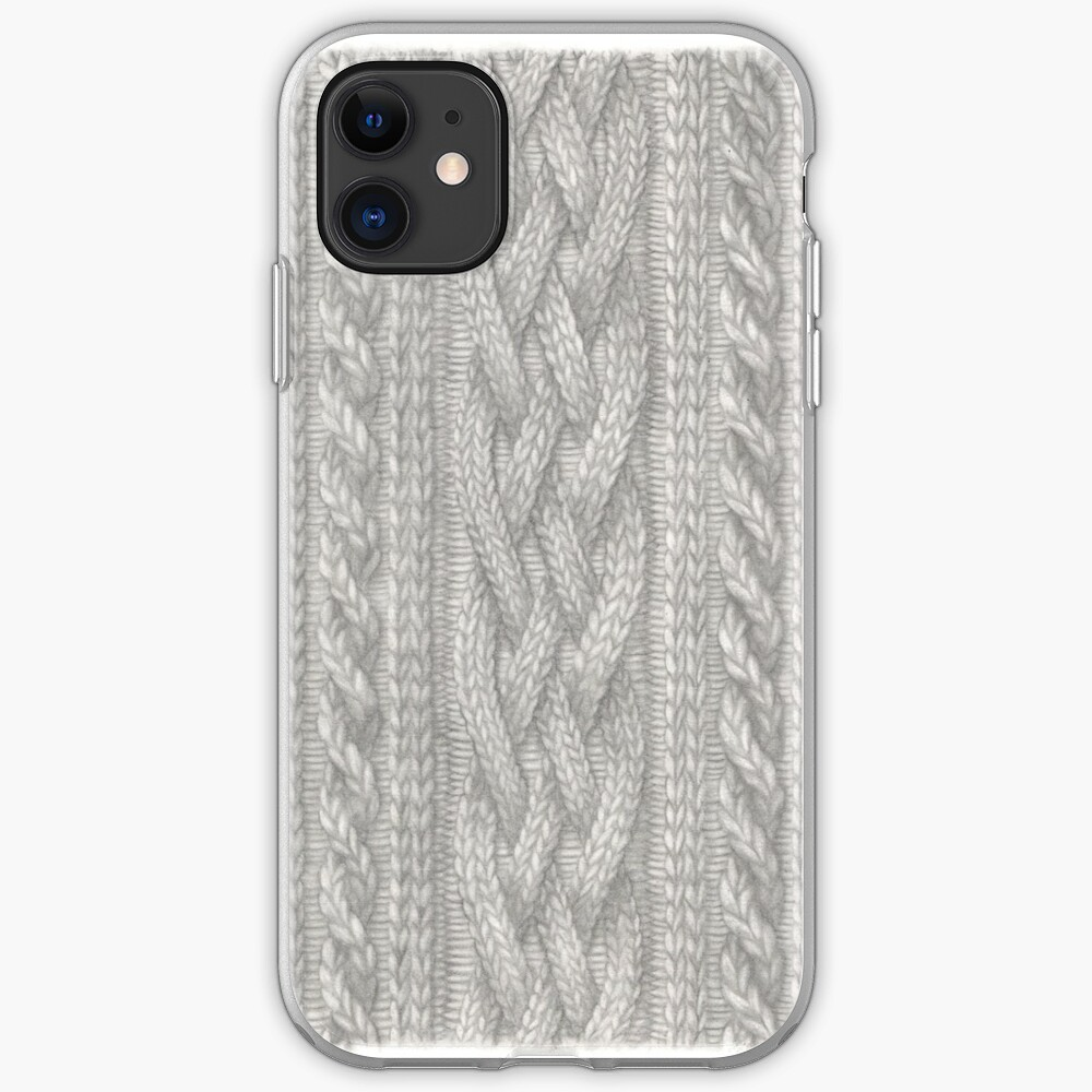 Cable Knit iPhone Soft Case