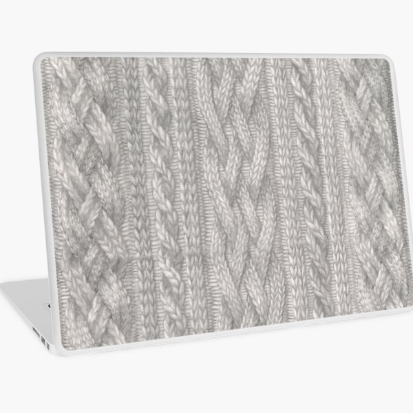 Cable Knit Laptop Skin