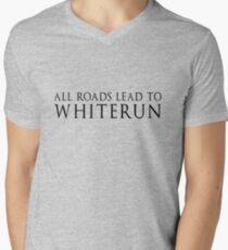 SKYRIM WHITERUN Men's V-Neck T-Shirt