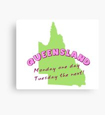 Queensland Canvas Print