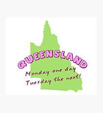 Queensland Photographic Print