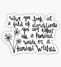 A Hundred Wishes Sticker
