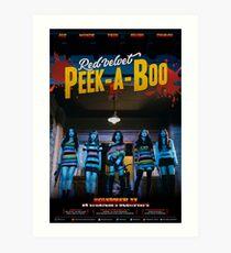 RED VELVET PEEK-A-BOO Art Print