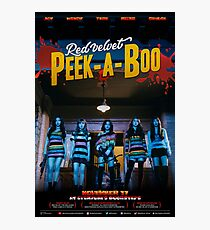 RED VELVET PEEK-A-BOO Photographic Print