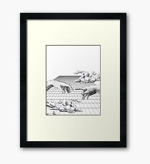 The Creation of Creating Framed Print