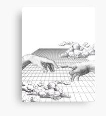 The Creation of Creating Metal Print