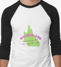 Queensland Men's Baseball ¾ T-Shirt