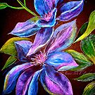 Flowers...Clematis by ©Janis Zroback