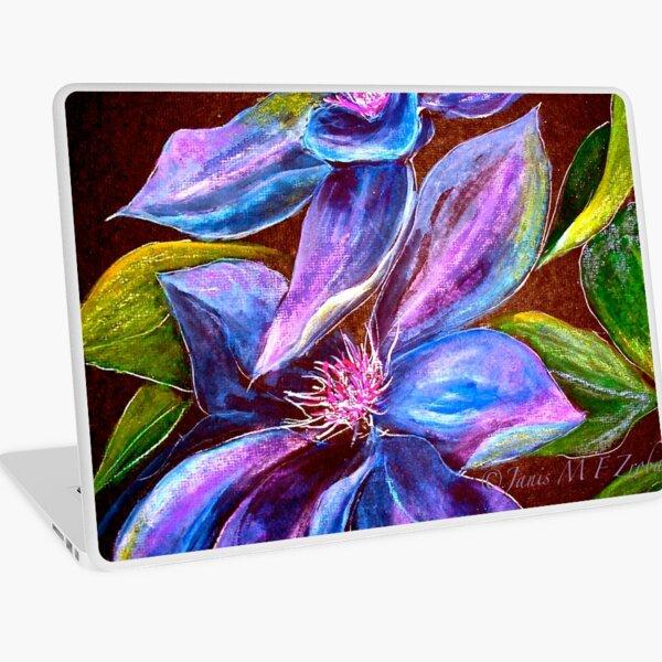 Flowers...Clematis Laptop Skin