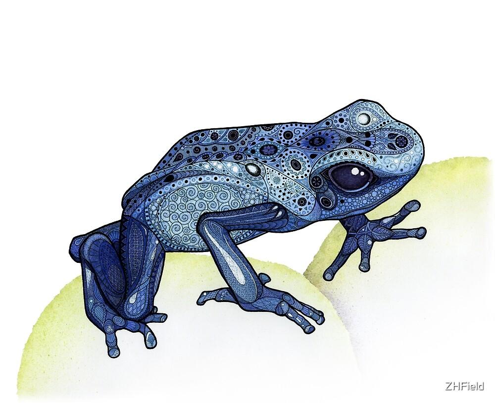 Poison Dart Frog by ZHField