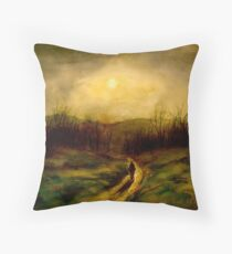 Landscape Hardy...The Return of the Native Throw Pillow