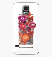 Say Cheese! Laughing and Smiling Flowers in Orange and Pink | Surrealistic Art | PetitPlat.fr Case/Skin for Samsung Galaxy
