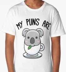 My Puns Are Koala Tea Long T-Shirt