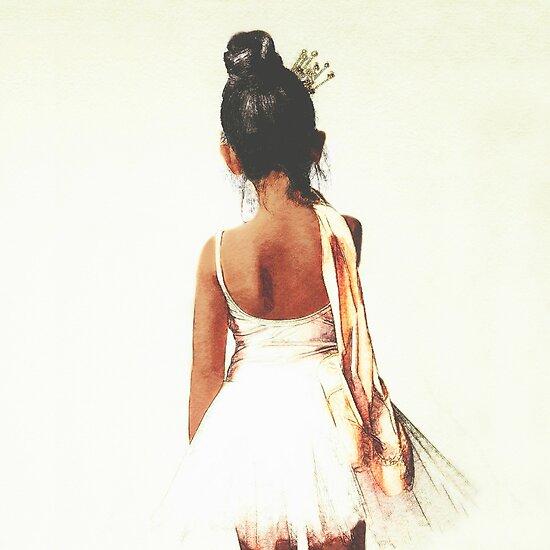 Afroamerikanische Ballerina von ChezLorraines