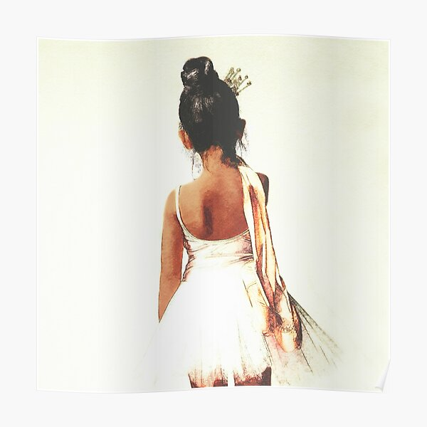 African American Ballerina Poster